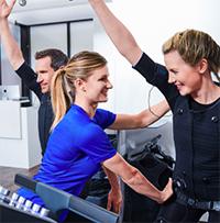 Coaching personnalisé Miha Bodytec à la Clinique de la Croix d'Or